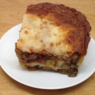 No Pasta Eggplant Lasagna <h6>– Low Carb, Gluten-Free</h6>