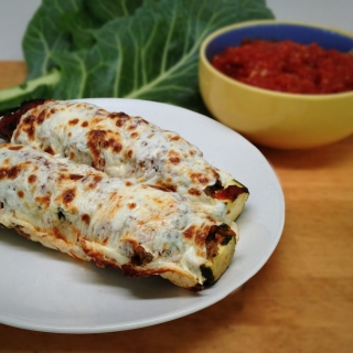 Stuffed Zucchini With Hidden Vegetables <h6>– Low Carb, Gluten-Free</h6>