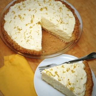 Lemon Chiffon Pie <h6>– Low Carb, Sugar Free, Gluten Free</h6>