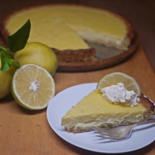 Lemon Tart <h6> – Low Carb, Gluten Free, Sugar Free, Dairy Free </h6>