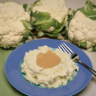 Cauliflower Mashed Potatoes <h6>– Low Carb, Gluten Free</h6>