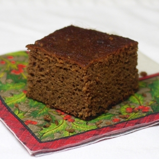 Gingerbread Snacking Cake <h6> – Lower Carb, Gluten Free, Dairy Free, Paleo</h6>