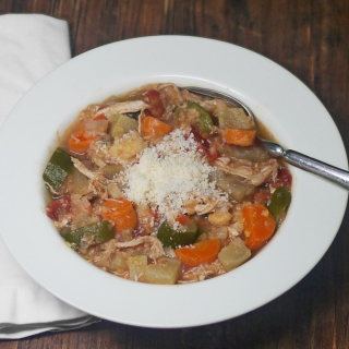 Easy Italian Chicken Vegetable Stew <h6> Low Carb, Gluten Free, Dairy Free, Paleo </h6>