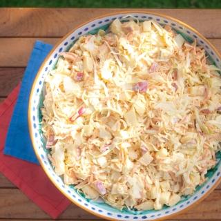 Picnic Coleslaw <h6> – Low Carb, Gluten Free, Sugar Free </h6>