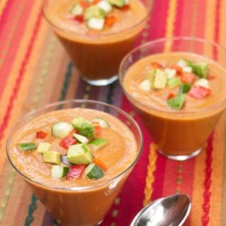Gazpacho <h6> – Low Carb, Gluten Free, Sugar Free, Dairy Free </h6>