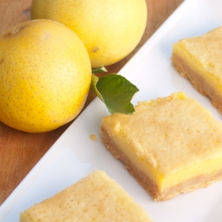Lemon Coconut Bars <h6> – Low Carb, Gluten Free, Sugar Free, Dairy Free </h6>