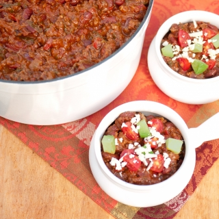 Chili with Hidden Vegetables