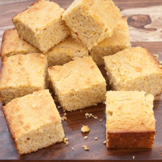 Fluffy Cornbread <h6/> – Gluten Free, Lower Carb, Sugar Free, Dairy Free Option</h6>