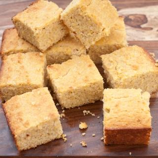 Fluffy Cornbread <h6/> – Gluten Free, Lower Carb, Sugar Free, Dairy Free Option</h6>