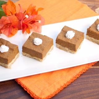Pumpkin Squares <h6> – Lower Carb, Gluten Free, Sugar Free, Dairy Free </h6>