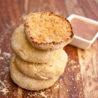 English Muffins <h6>-Gluten Free, Dairy Free, Sugar Free, Paleo </h6>