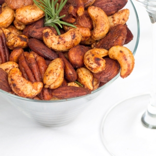 Mike's Spicy Nuts  <h6> – Low Carb, Gluten-Free, Dairy-Free, Sugar-Free</h6>