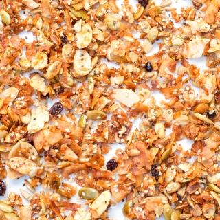 Low Carb Granola <h/7>-Gluten Free, Grain Free, Dairy Free <h/7>
